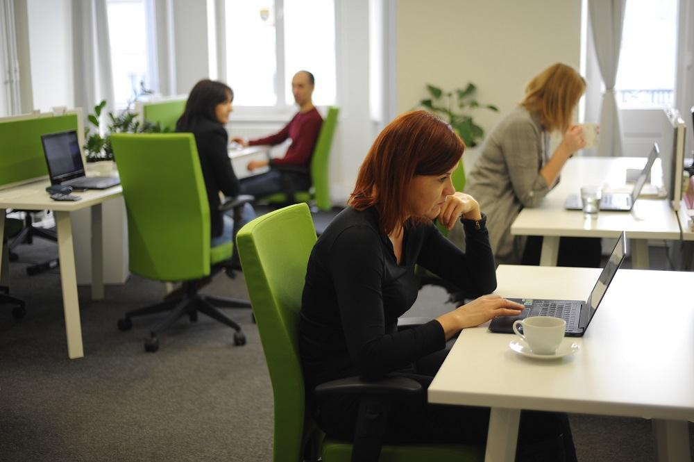 Coworking open space, Sobusy coworking Żurawia
